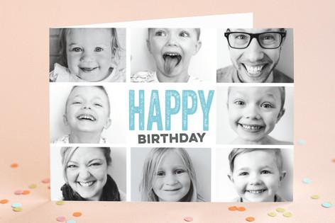 Snapshots Birthday Greeting Cards