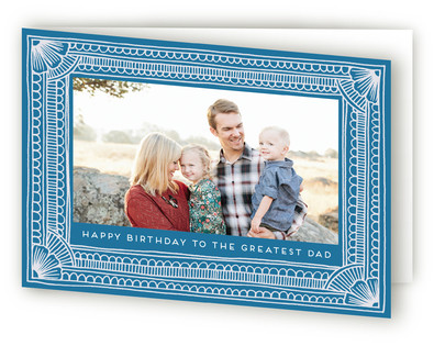 Birthday Border Greeting Cards