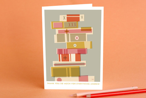 Wordsworth Adult Thank You Greeting Cards