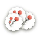 Watercolor Wild Flower Buds