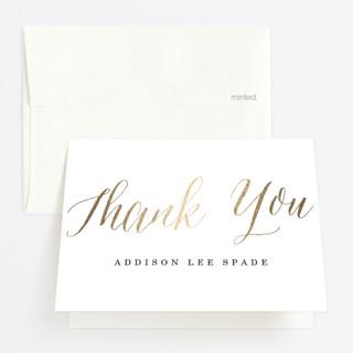 Proud Graduate Foil-Pressed Graduation Announcement Thank You Cards
