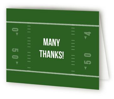 Graduation Touchdown Graduation Announcement Thank You Cards