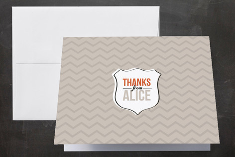 Three Cheers for the Graduate Graduation Thank You Cards
