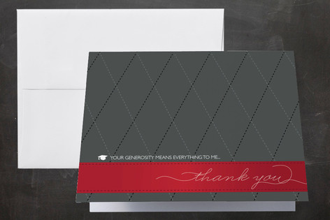 Let's Celebrate Graduation Thank You Cards