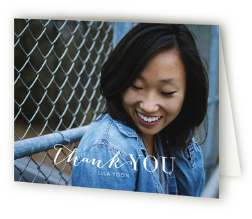 Cover Page Graduation Announcement Thank You Cards