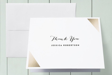 Cutting Corners Graduation Thank You Cards
