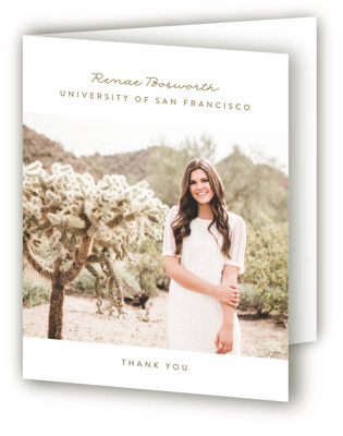 Perfect Graduate Graduation Announcement Thank You Cards