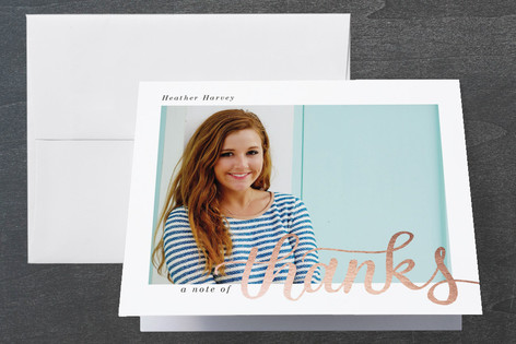 Simply Graduating Graduation Thank You Cards