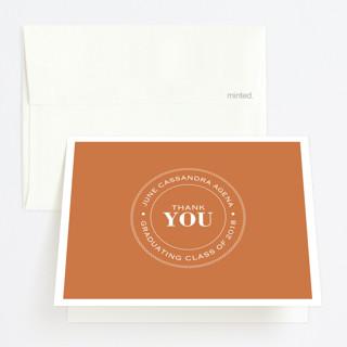 Graduate Ring Graduation Thank You Cards