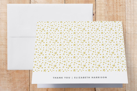 Type Frost Graduation Thank You Cards