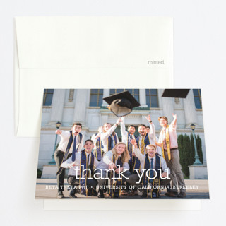 Happy Everything Graduation Thank You Cards