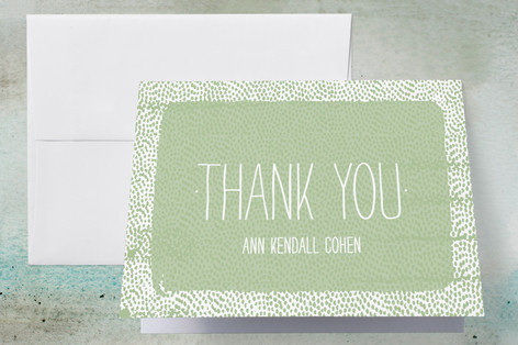 Just Dotty Graduation Thank You Cards