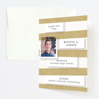 accomplishments on file graduation thank you cards minted