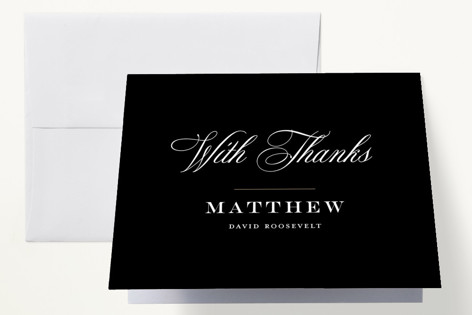 formal announcement graduation thank you cards