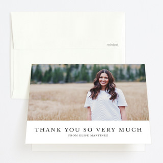 Photo Collage Graduation Thank You Cards