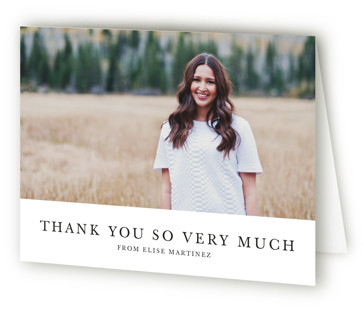 Photo Collage Graduation Announcement Thank You Cards