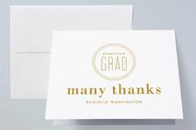 Graduation Announcement Thank You Cards