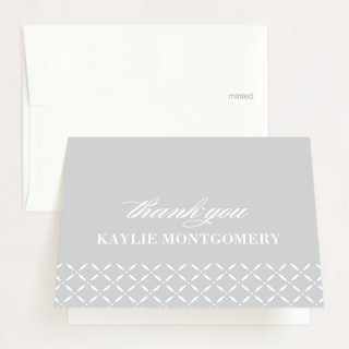 Formal Commencement Graduation Thank You Cards