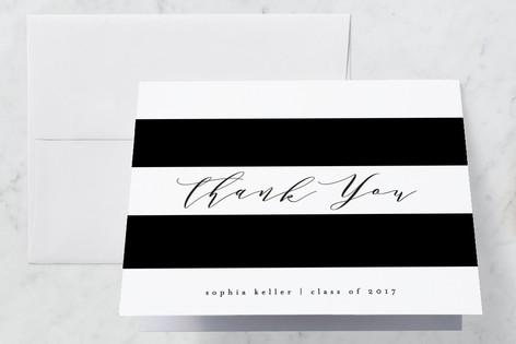 Simplicity Graduation Thank You Cards