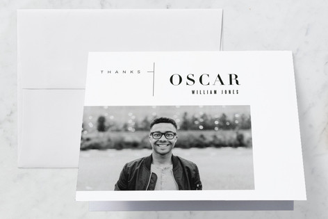 Double Gallery Grad Graduation Thank You Cards