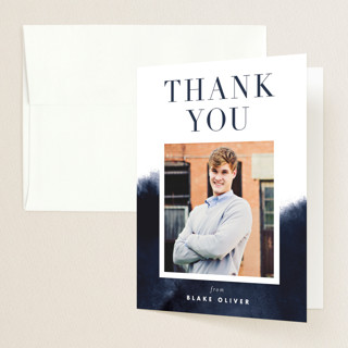 Bold Statement Graduation Thank You Cards