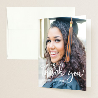 Boho Graduation Thank You Cards