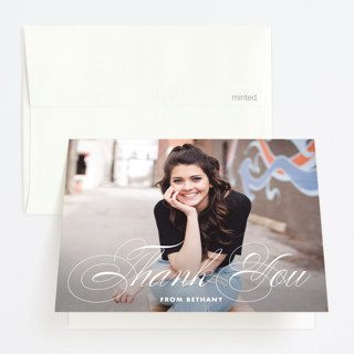 Just Fab Graduation Thank You Cards