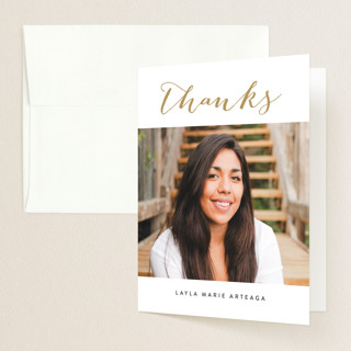 Gracefully Graduation Thank You Cards