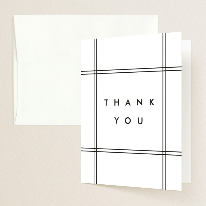 """Go Getter"" - Graduation Thank You Cards in Abyss by Kelly Stewart."