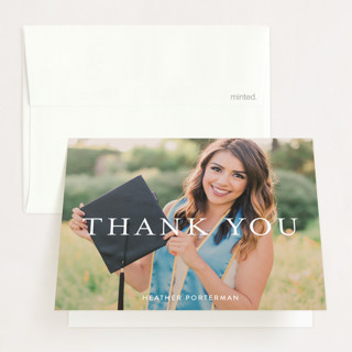 Its Finally Time Graduation Thank You Cards
