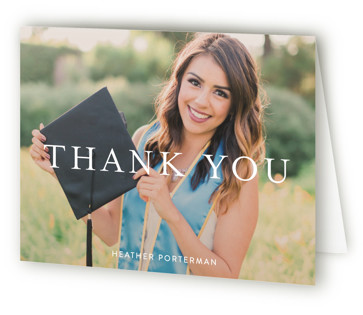 Its Finally Time Graduation Announcement Thank You Cards