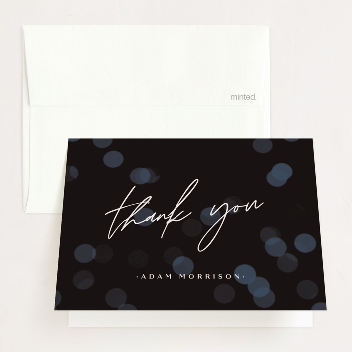 """""""Rising"""" - Graduation Thank You Cards in Light by Rebecca Daublin."""