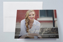 Graduation Announcement Thank You Cards