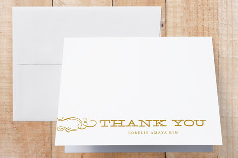 Vintage Graduation Thank You Cards