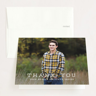 My Year Graduation Thank You Cards