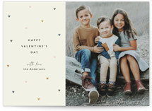 This is a green valentines day by Faith Dorn called chic hearts with standard printing on signature in grand.