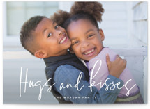 This is a white valentines day by Hooray Creative called Extra Hugs and Kisses with standard printing on smooth signature in grand.