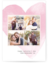 This is a pink valentines day by Creo Study called Hearty love with standard printing on smooth signature in grand.