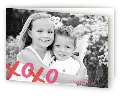 XOXO Valentine's Day Greeting Cards