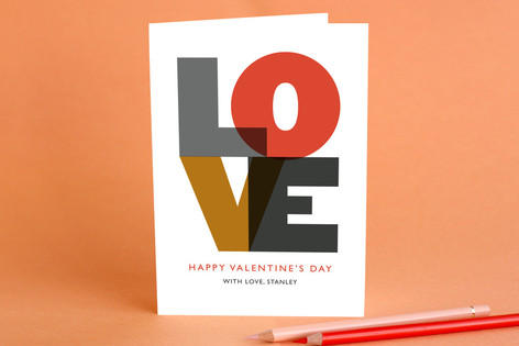 Love Valentine's Day Greeting Cards