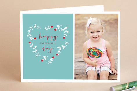 Blossoming Valentine's Day Greeting Cards