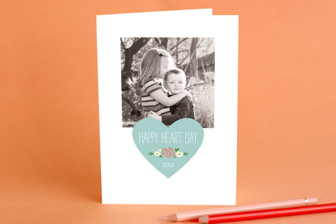 Happy Heart Day Valentine's Day Greeting Cards