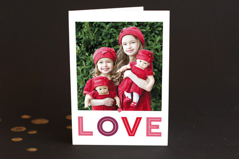 Love Large Valentine's Day Greeting Cards