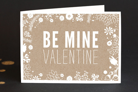 Be Mine Valentine Valentine's Day Greeting Cards