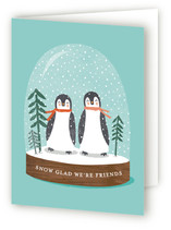 little penguins snowglobe