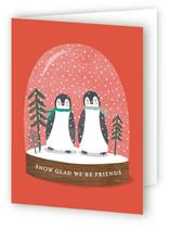little penguins snowglobe