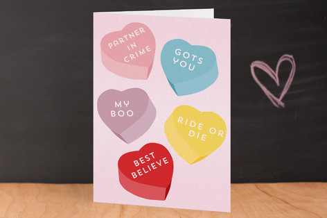 Hardcore Sweets Valentine's Day Greeting Cards