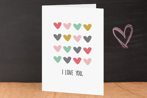 Your love is all there is Valentine's Day Greeting Cards