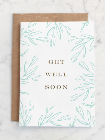 Get Well Soon Branches
