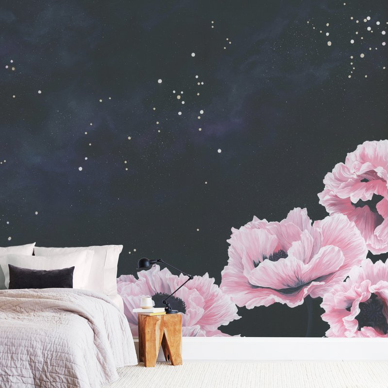 """Awakening"" - Non-custom Wall Murals by Emily Magone in beautiful frame options and a variety of sizes."